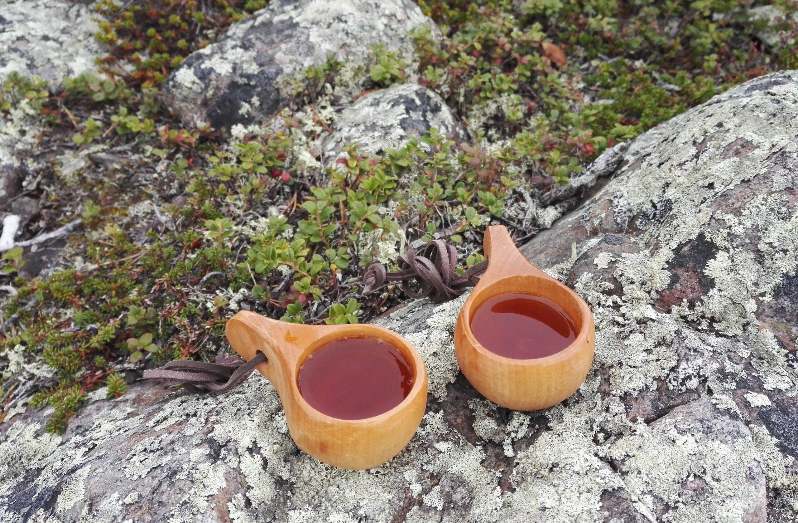pienet juomat puisissa kuksisa eli näkäräiset