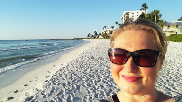 Selfie Naples Beachillä